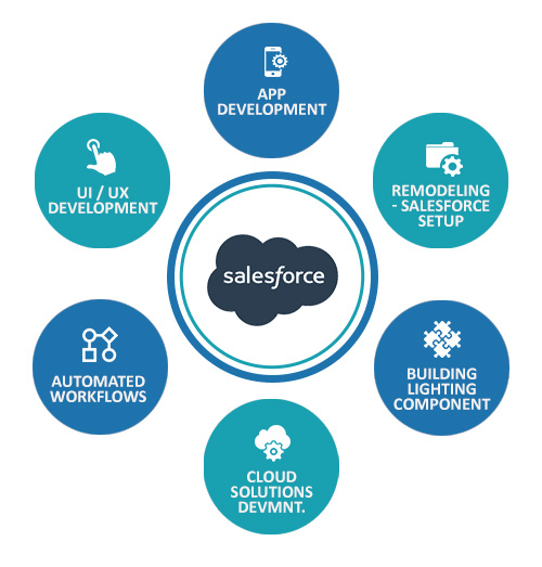 Salesforce Application Development Services Company In India